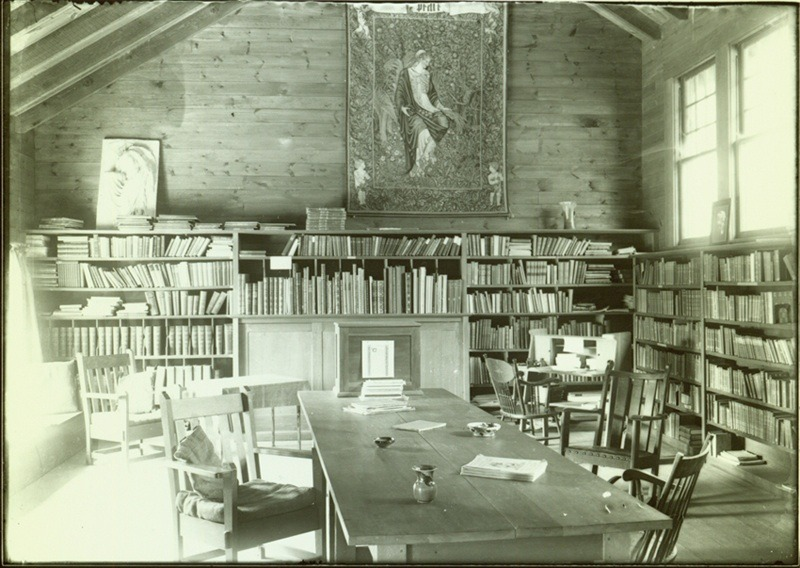 Interior of the Byrdcliffe Library