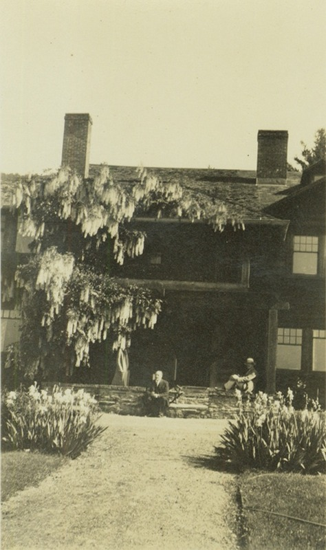 Porch of White Pines