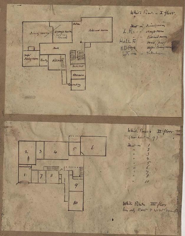 Floor Plan of White Pines